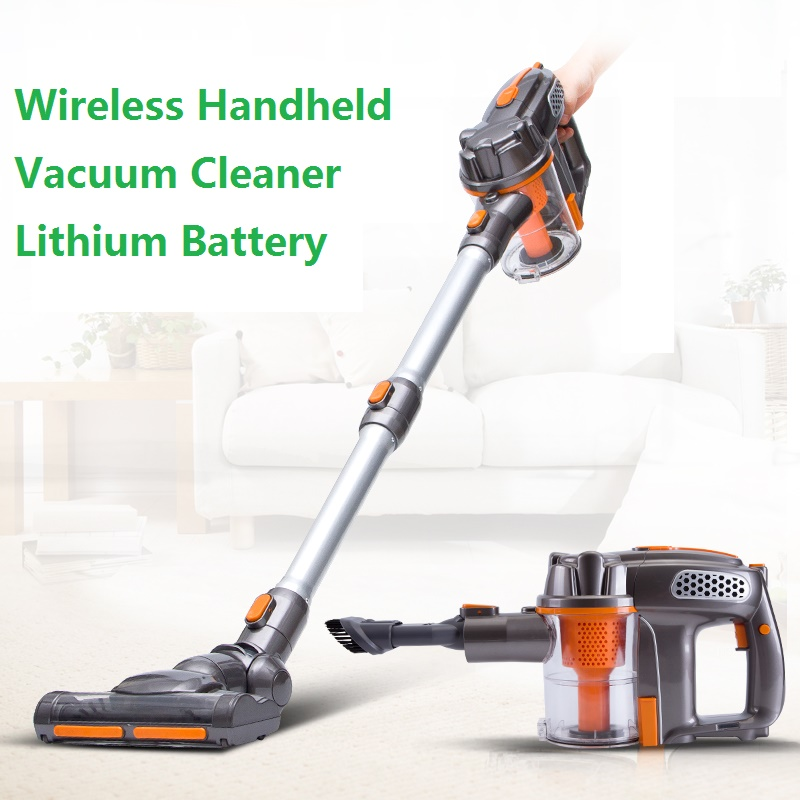 Bagless Big Suction Power Wireless Hand Stick Cyclone Vacuum <strong>Cleaner</strong>