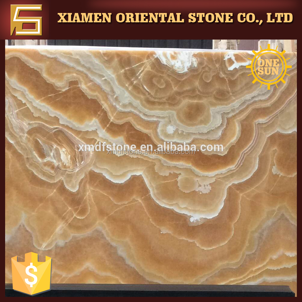 import orange jade yellow onyx marble for wall cladding