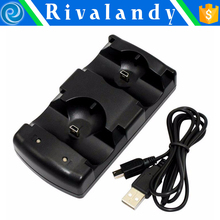 USB charger for playstation 3 controller dual charging station for ps3 with extra USB connector