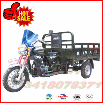 Guanzhou KAVAKI brand 150cc gas motor tricycle