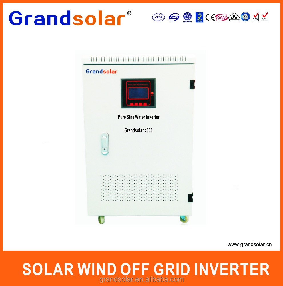 GRANDSOLAR LOW FREQUENCE HOT SELL 5000W DC TO AC 50HZ OFF GIRD TIE INVERTER FOR HOME USE