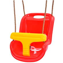 brand high quality durable plastic adults baby swing chair sets kids patio swing with canopy