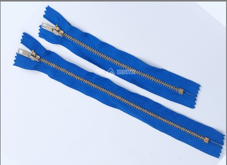 Fire resistant metal zipper for Fire Clothing ZM10003