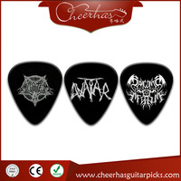 guitar plectrums factory ,china guitar pick print logo