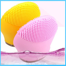 Skin care brush facial cleanser silicone face clean wash deep new silicone Face cleansing massager