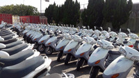 Taiwan SANYANG/SYM 150cc used scooter refitted repaired factory export