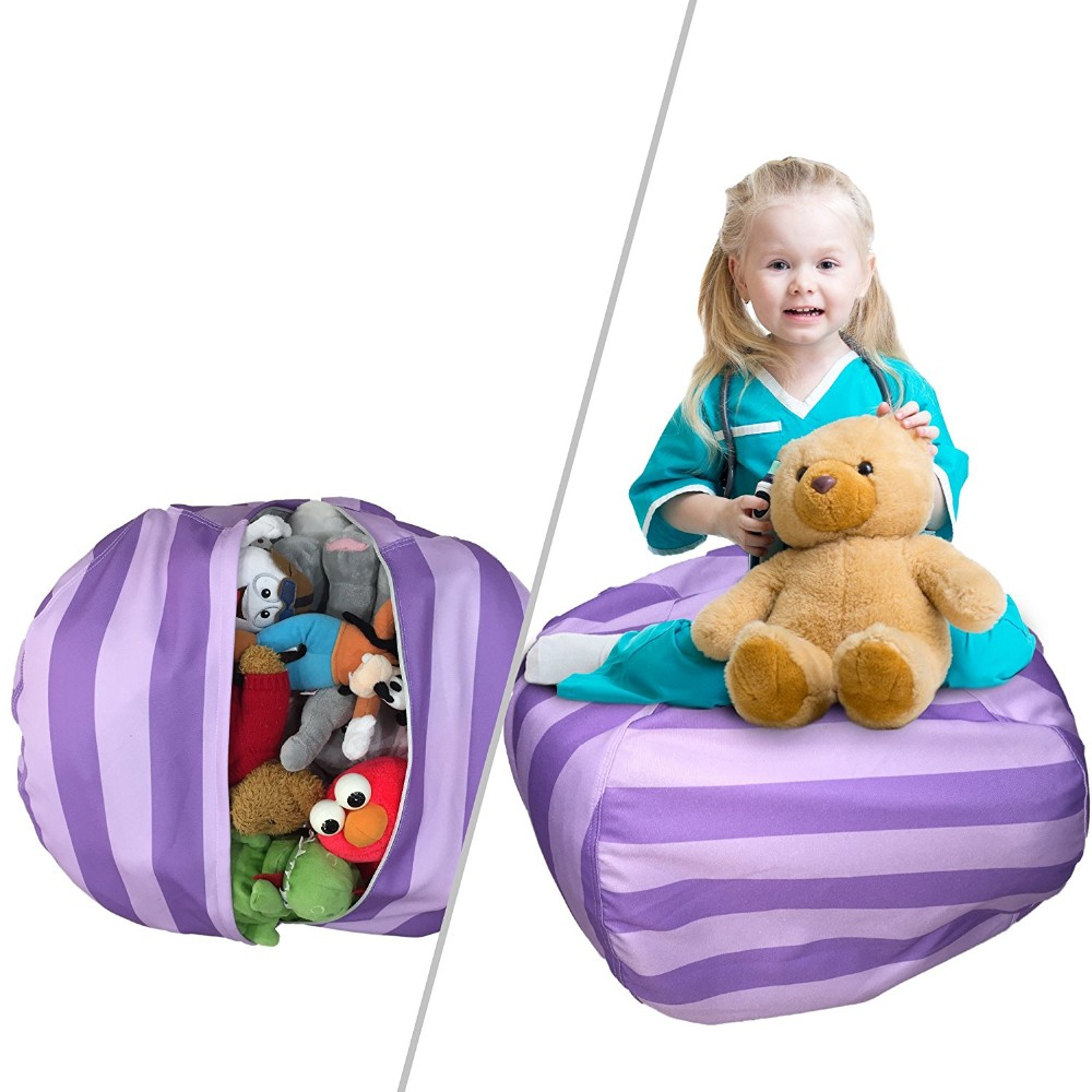 Stuffed Animal Storage Bag Bean Bag Chair
