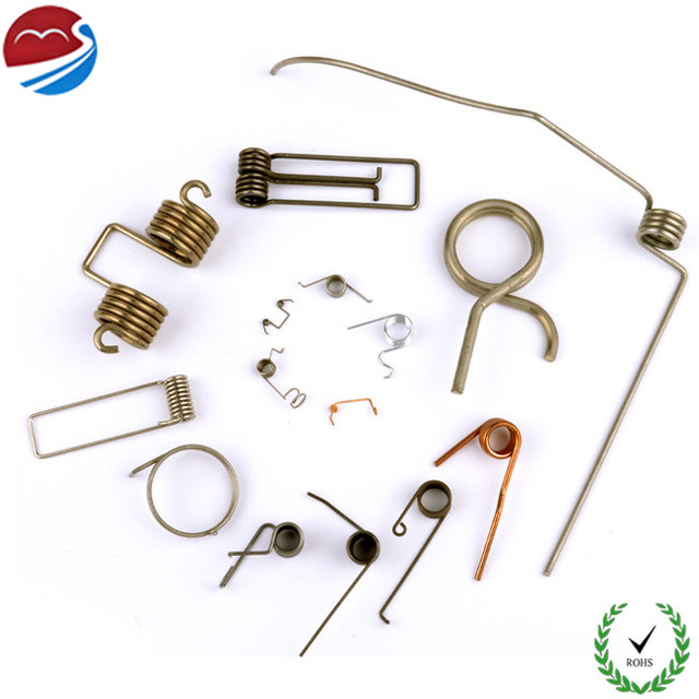 Zinc/Nickle Plated Customized Small Torsion Spring Assortment