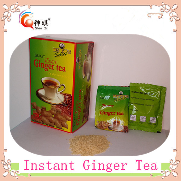 Healty instant ginger <strong>tea</strong> drink, instant ginger <strong>tea</strong> with honey crystals