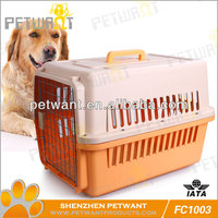 pet carrier on wheels FC-1003 plastic cat pet carrier