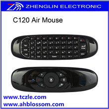 mini USB 2.4G Remote Control C120 Air Mouse with Wireless Keyboard Android 4.0 Mini PC