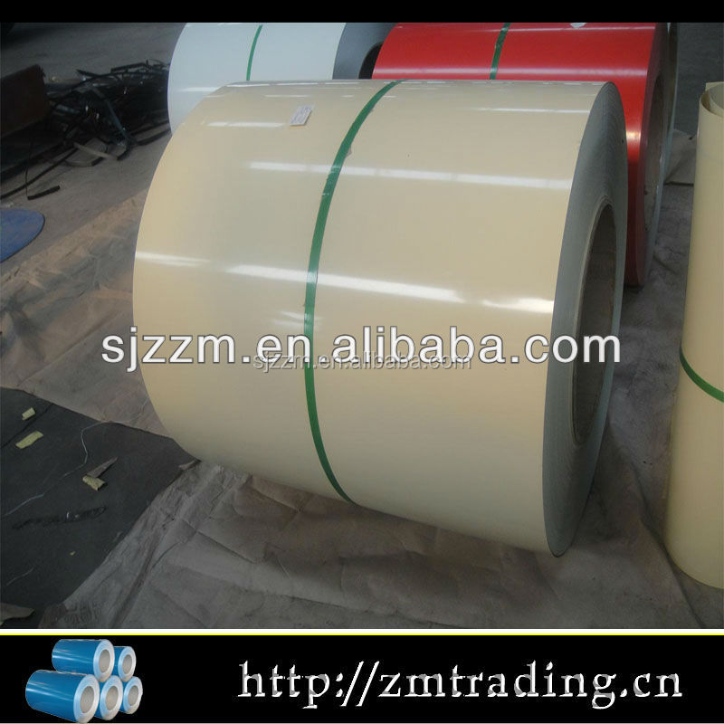 PPGI Steel Coil/White board/prepainted galvanized steel coil/DX51D/SGCC