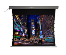 Projector screen /Flexible Pvc fabric Tab Tension Screen. Motorized Tab Tensioned Projector Screen Home Movie Theater