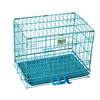 Indestructible deluxe folding dog cage kennel