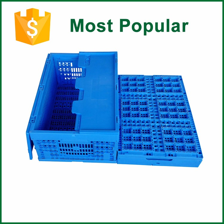 New Design Foldable Plastic Crates For Produce