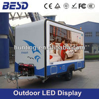 Truck Trailer P10 Outdoor RGB LED Display/LED Screen/LED Billboard for Mobile Adverising