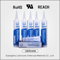 Adhesive & sealant Type and Silicone Main Raw Material antibacterial silicone sealant