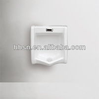 HH6T617 wall mounted ceramic sensor urinal for men