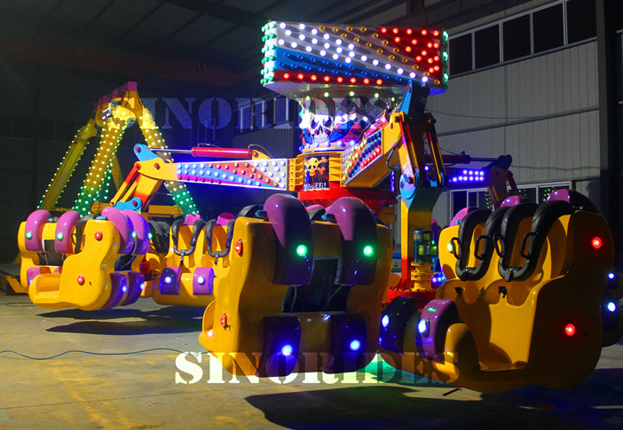 Energy Claw, Energy Storm Rides China Adult Playground Equipment