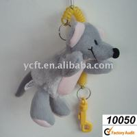 10050 plush and stuffed Mouse toys with key Chain