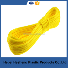 All color 3 strand Polypropylene rope