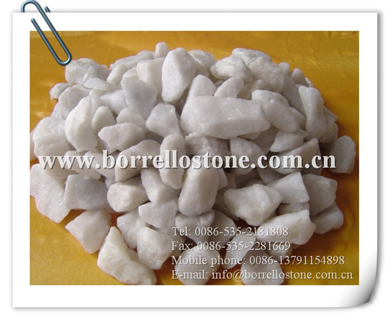 natural crushed marble stone