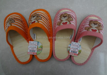 Nan tong New Design Women Bamboo Slippers Shoes