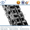 ISO ANSI stainless steel pitch 44.45mm C28A-2 duplex roller chain with straight side plates