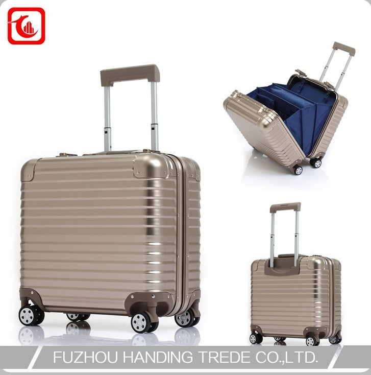 business luggage laptop pilot case trolley bag factory