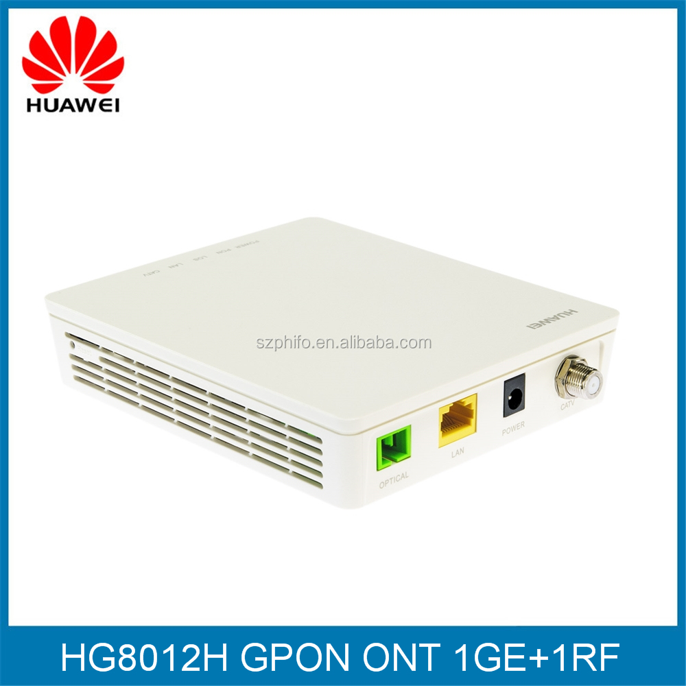 Fiber optic wireless networking equipment 1GE+1RF FTTH GPON ONT