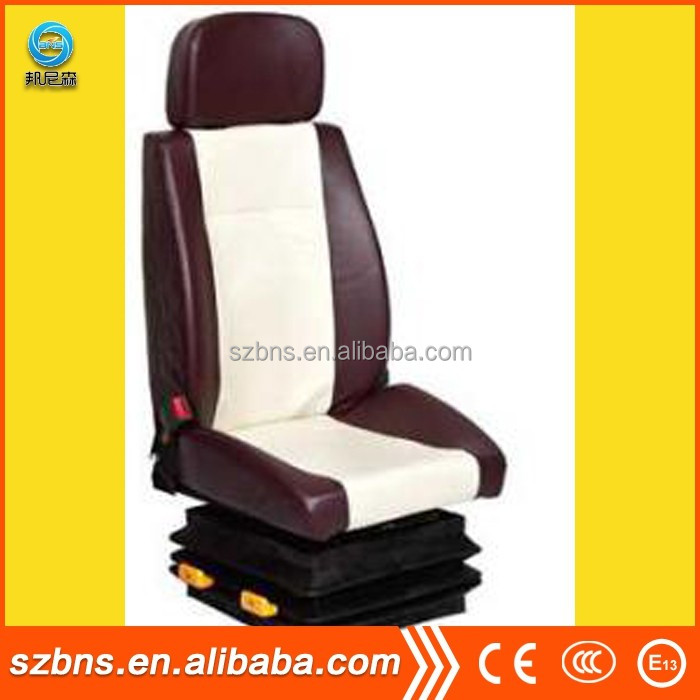 Leather Material and General Seat Type bus driver seat/Air suspension driver seat for universal heavy truck & bus