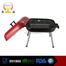 Good after-sales service hamburger porcelain enamel paint bbq grill