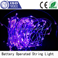 3XAA remote controlled battery operated led strip light LED submersible micro Fairy string light/LED led string light
