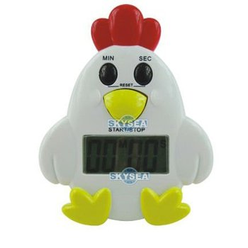 Chicken shape kitchen countdown digital timer