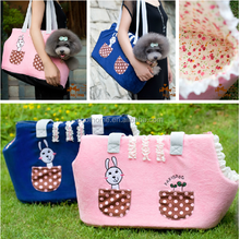 Cute pet dog to carry out bag pet dog pack with Teddy outcrop