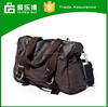 Alibaba canvas duffel bag leather handles, standard size canvas tote bag