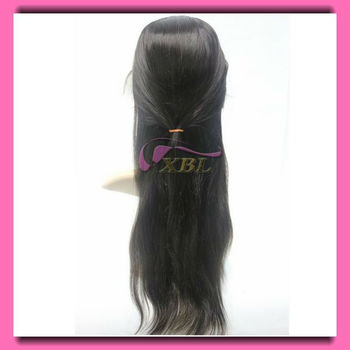wedding lover!!!100%brazilian human hair full lace wig,high quality,28 inch body wave,color 33#,reasonable price