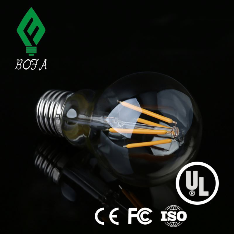LED A19 E26/E27 edison bulb Edison LED Vintage Antique Filament Bulb, 60 Watt Squirrel Cage Nostalgic Tungsten Filament