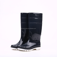 Factory price pure design waterproof pvc rain boots, cheap rain boots