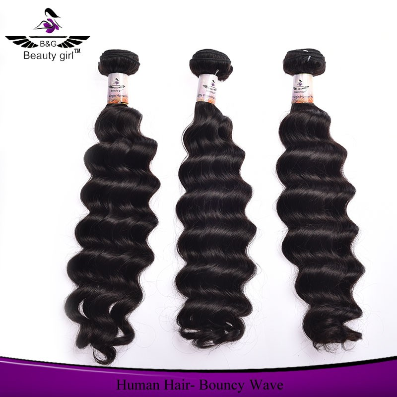 wholesale bouncy wave hair cheap virgin natural wave indian hair 3 bundles for a full head