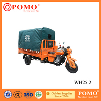 China Popular Motorized Water Cooled Gasoline Cargo 250CC Motor Tricycle For Sale