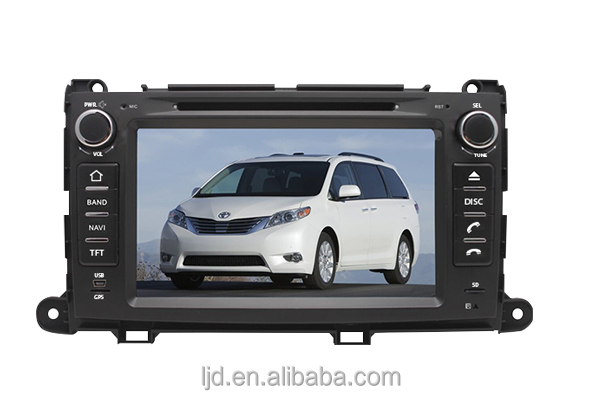 Sienna / XL30 2013 car dvd player
