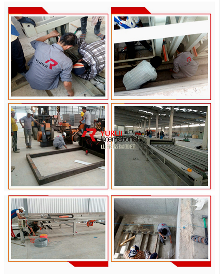 SENYD automatic glass magnesium board production line