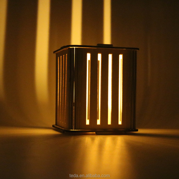laser cut wooden carved cheap candle holder