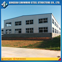 High quality low cost prefab factory shed design metal workshop building