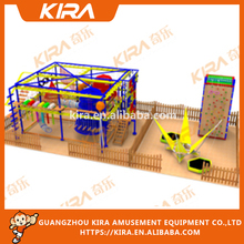 2017 hot and new Fitness children's indoor play equipment ropes adventure park