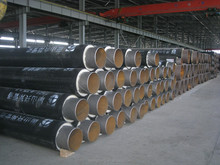 green room water delivery heat insulation foamed steel pipe
