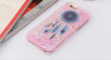 Various Print Patterns Dreamcatcher Painted TPU Phone Case,quicksand bling glitter for iPhone6 case ,For iphone 6Plus case