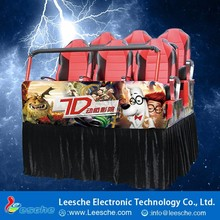 New Experience Electronic Game Cinema Chairs Electric Auto 7D Cinema