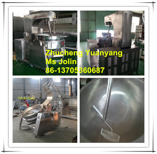 Automatic Planetary Cooking Mixer ( Natural gas heating,Elctric heating, Steam heating 0